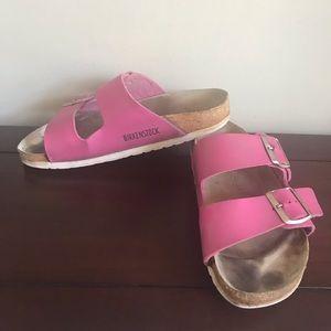 Pink Arizona Style Birkenstock Sandals